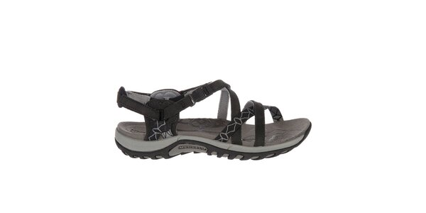 Dámske čierne sandále Merrell