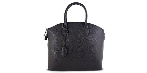 Dámska kufríková čierna kabelka Roberto Buono