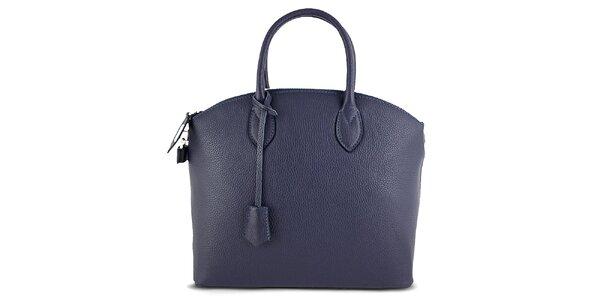Dámska kufríková modrá kabelka Roberto Buono