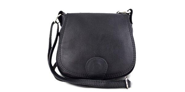 Dámska čierna malá kabelka Roberto Buono
