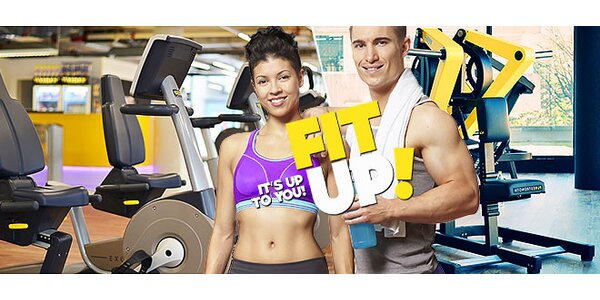 2x vstup do nového fitka FIT UP!