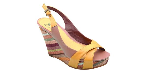 Dámske farebné sandálky v Elisabeth