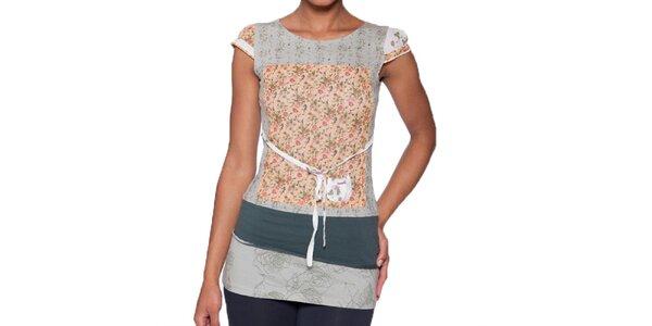 Dámske dlhé tričko s kvetinovým vzorom Ian Mosh