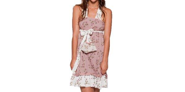 Dámske ľahké ružové šaty Ian Mosh