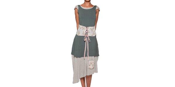 Dámske dlhé zelené šaty Ian Mosh