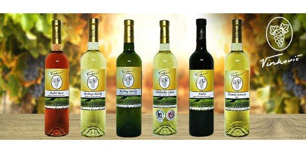 Víno s rodinnou tradíciou - 6 balenie