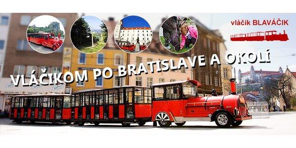 Vláčikom Blaváčikom po Bratislave
