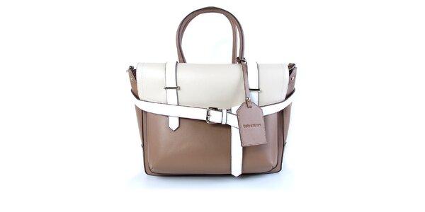Dámska dvojfarebná kabelka s vynímateľnou vnútornou taštičkou Belle & Bloom