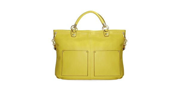 Dámska neonovo žltá kabelka Belle & Bloom