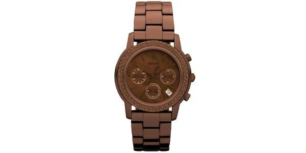 Dámske okrúhle hodinky DKNY