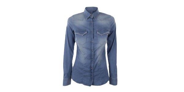 Dámska džínsová košeľa Gas