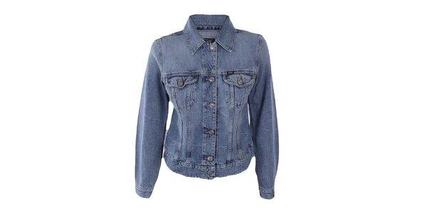 Dámska svetlá džínsová bunda Gas