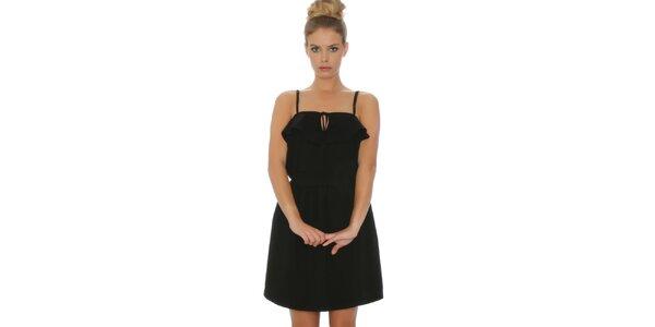 Dámske čierne šaty Pepa Loves