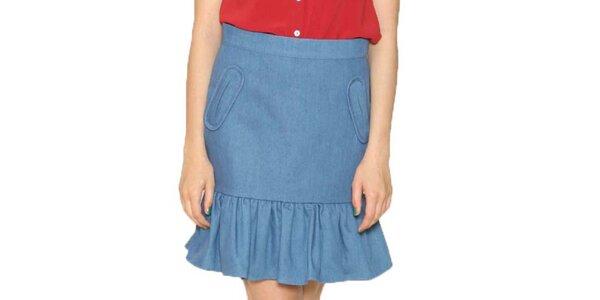 Dámska modrá sukňa Pepa Loves