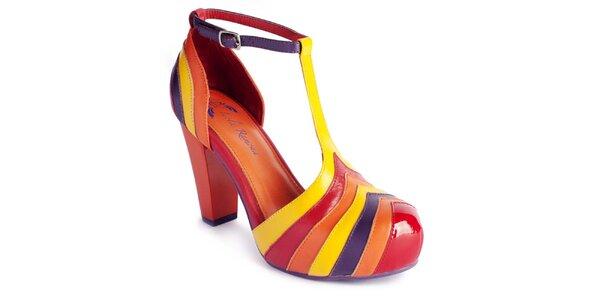 Dámske farebné topánočky Lola Ramona
