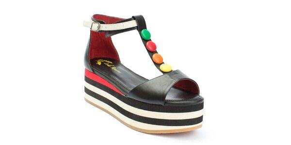 Dámske sandále na platforme s lentilkami Lola Ramona