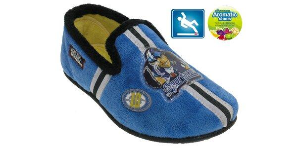 Detské modré papučky Beppi s vôňou