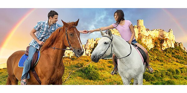 Jazda na koni aj pre 2 osoby