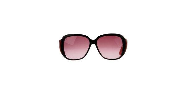 Dámske oranžovo-hnedé slnečné okuliare Marc Jacobs