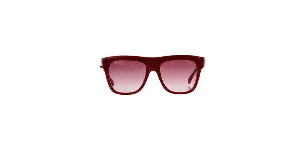 Unisex červené slnečné okuliare Marc Jacobs