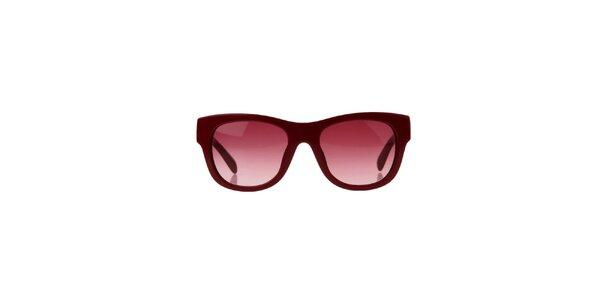 Dámske vínové slnečné okuliare Marc Jacobs