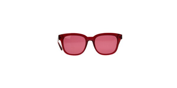 Dámske červené slnečné okuliare Marc Jacobs