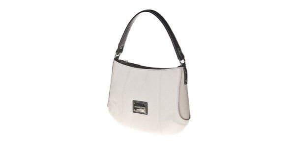 Dámska biela kabelka s plieškom Versace Jeans