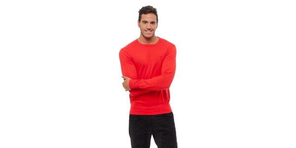 Pánsky červený sveter Bendorff