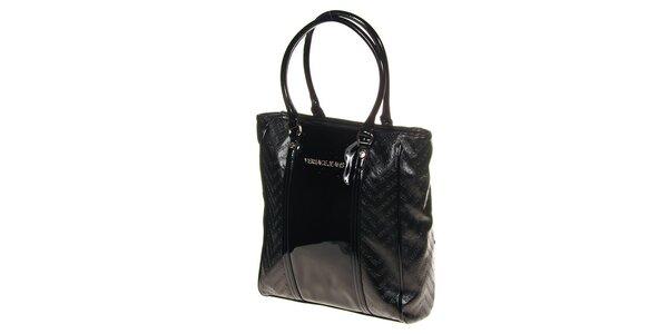 Dámska čierna kabelka Versace Jeans