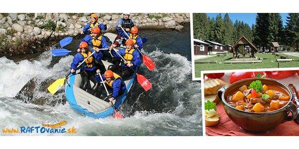 Raftovanie na slovenskej rieke Belá máj 2014