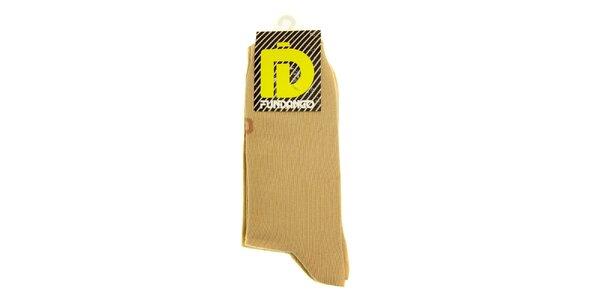 Pánske béžové ponožky Fundango - 2 páry