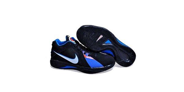 Pánske čierno-modré športové tenisky Nike