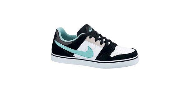 Pánske čierno-bielo-mätové tenisky Nike
