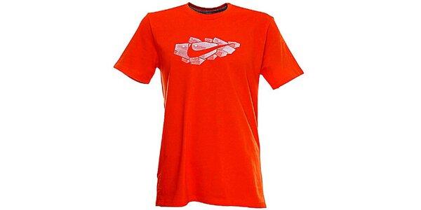 Pánske červené tričko Nike