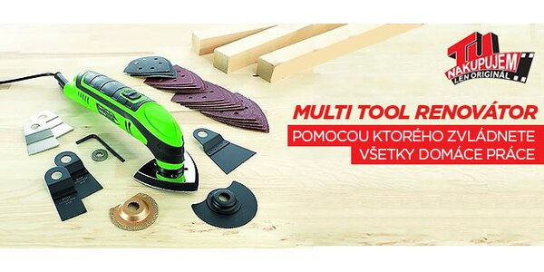 Praktický Multi Tool renovátor
