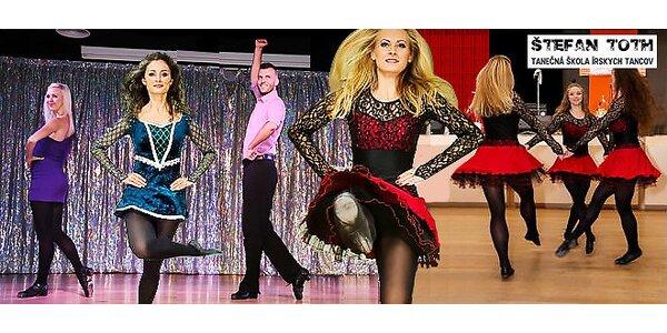 8 lekcií írskeho tanca v Trnave