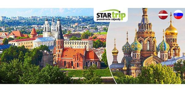 7-dňový výlet za poznaním Petrohradu