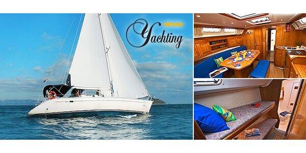 Prenájom jachty na Jadrane na 4 alebo 7 dní