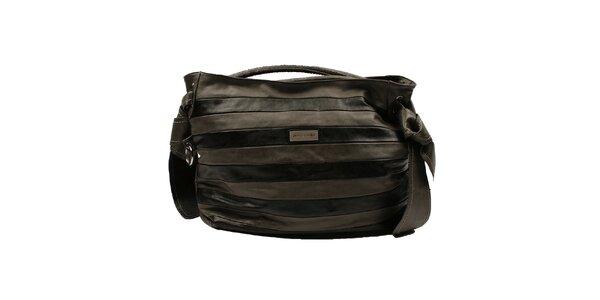 Dámska pruhovaná kabelka Pierre Cardin