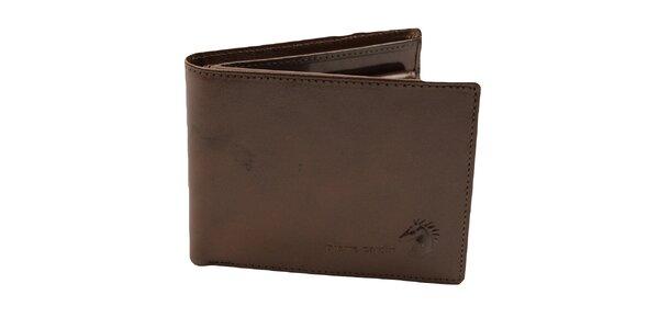 Pánska hnedá peňaženka Pierre Cardin