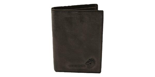 Pánska čierna hladká peňaženka Pierre Cardin