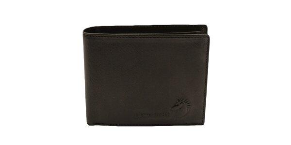 Pánska čierna obdĺžniková peňaženka Pierre Cardin