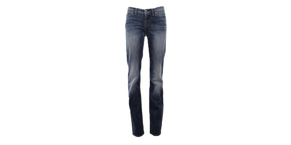 Dámske modré džínsy so šisovaním Big Star