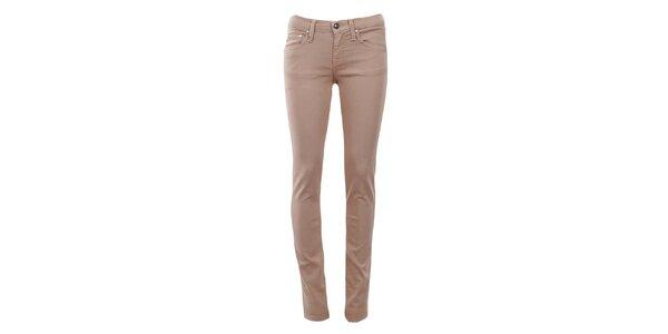 Dámske béžové úzke džínsy Big Star