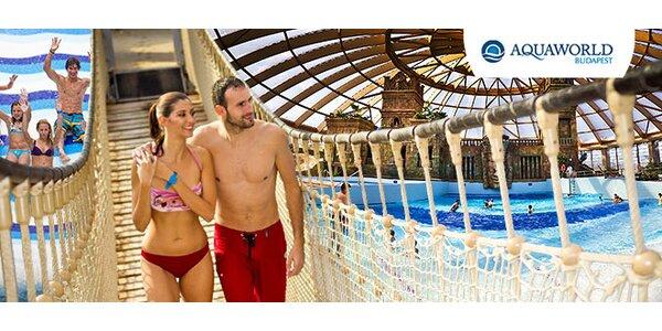 Celodenný vstup do Aquaworldu v Budapešti pre celú rodinu
