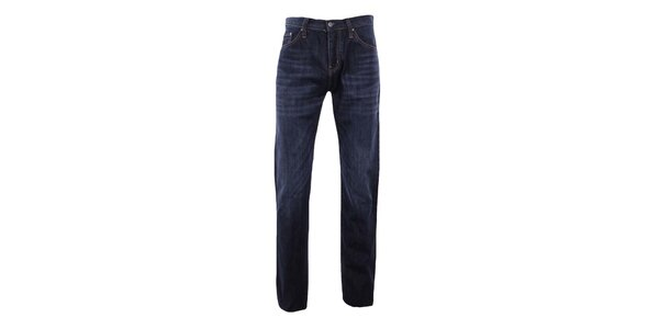 Pánske tmavo modré rovné džínsy Big Star