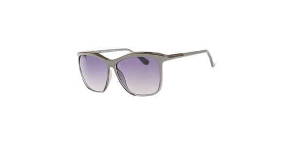 Dámske šedo-strieborné slnečné okuliare Michael Kors