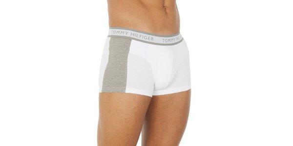 Pánske bielo-šedé boxerky Tommy Hilfiger