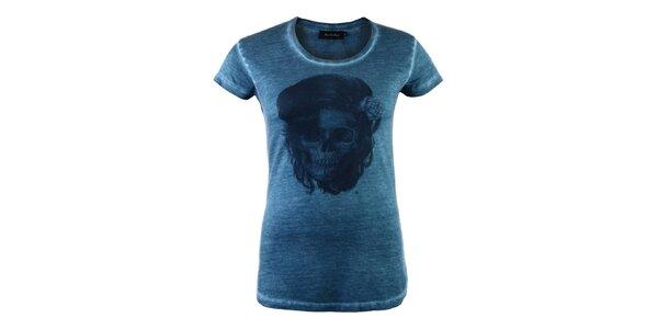 Dámske tyrkysové tričko Ron Abraham s Amy