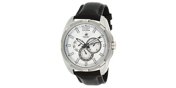 Pánske hodinky s originálnym ciferníkom Beverly Hills Polo Club